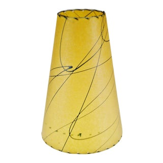 Mid Century Fiberglass Atomic Style Lamp Shade For Sale