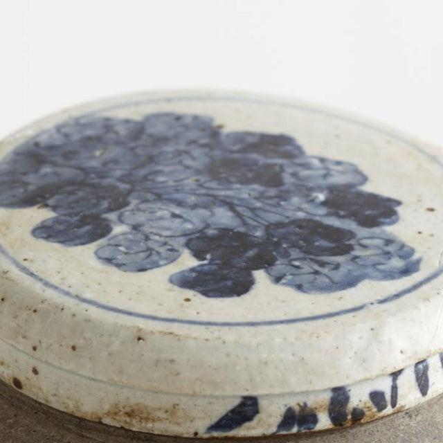 Blue & White Ceramic Jar - Image 5 of 5