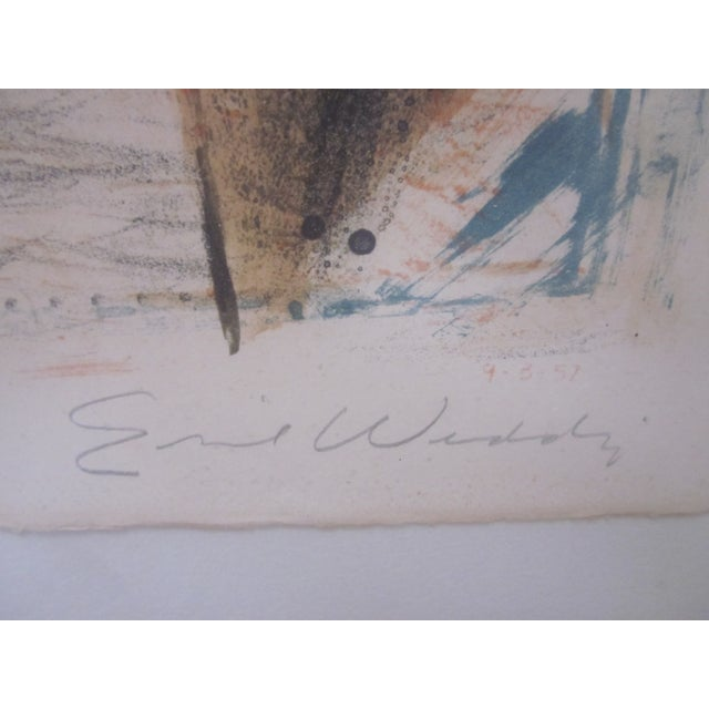 Emil Weddige Abstract Modernist Mid Century Modern Art Musicians For Sale - Image 7 of 8