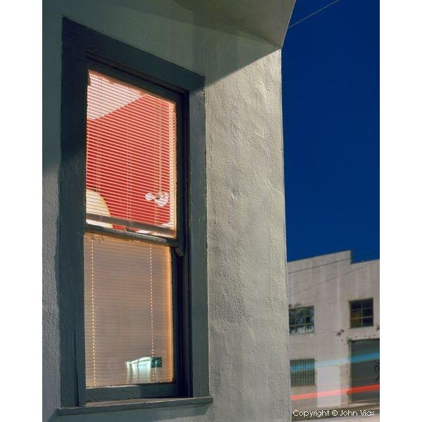 """Contemporary Photograph """"Red Walls"""" by John Vias For Sale"""