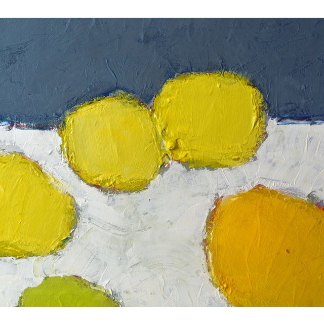 'Color Composition' Original Abstract Painting by Lars Hegelund For Sale - Image 9 of 12