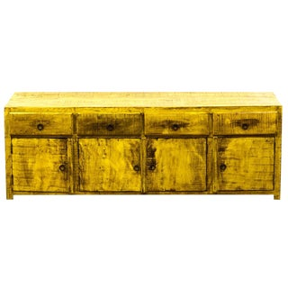 Reclaimed Peroba Rosa Wood Low Sideboard/Media Console