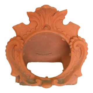 Special Midwest Delivery; Antique French Terracotta Architectural Element For Sale