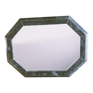 1970s Vintage Maitland-Smith Marble Mirror For Sale