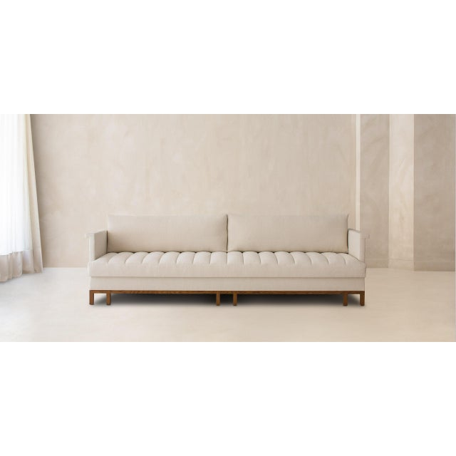 Tan Telmo Sofa For Sale - Image 8 of 8