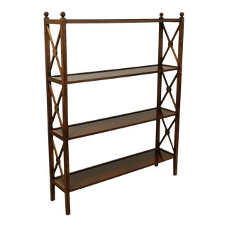 Grange French Cherry 4 Tier Bookshelf For Sale