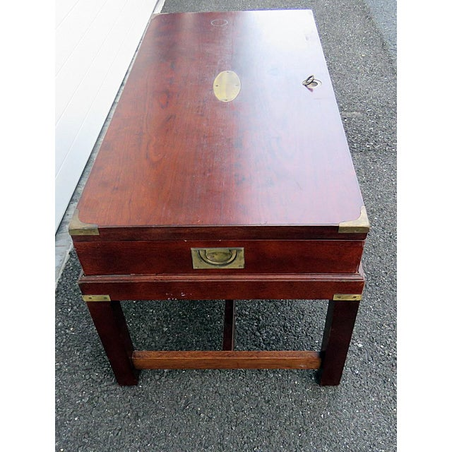 Campaign Style Box on Stand For Sale - Image 9 of 10