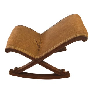 Antique Horse Hair Rocking Chair For Sale