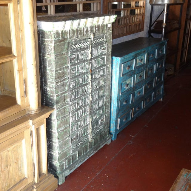 Colonial Metal Work Storage Cabinet - Image 3 of 6