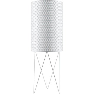 Mid-Century Modern Barba Corsini White Aluminum 'Pd2' Pedrera Floor Lamp For Sale