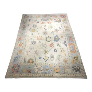 "Bellwether Rugs ""Klara"" Old Look Oushak - 10′5″ × 13′11″ For Sale"