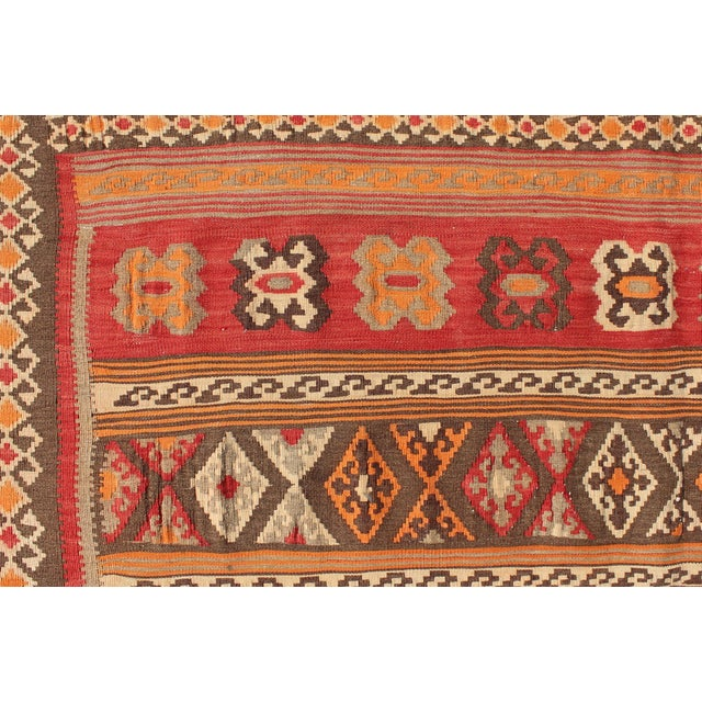 Keivan Woven Arts, S12-0601, 1930's Antique Moroccan Kilim Rug - 5′ × 9′10″ For Sale - Image 10 of 11