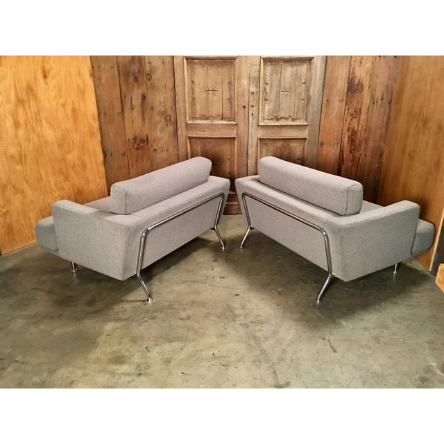 "Late 20th Century Piero Lissoni for Cassina ""253 Nest"" Chairs- a Pair For Sale - Image 9 of 13"