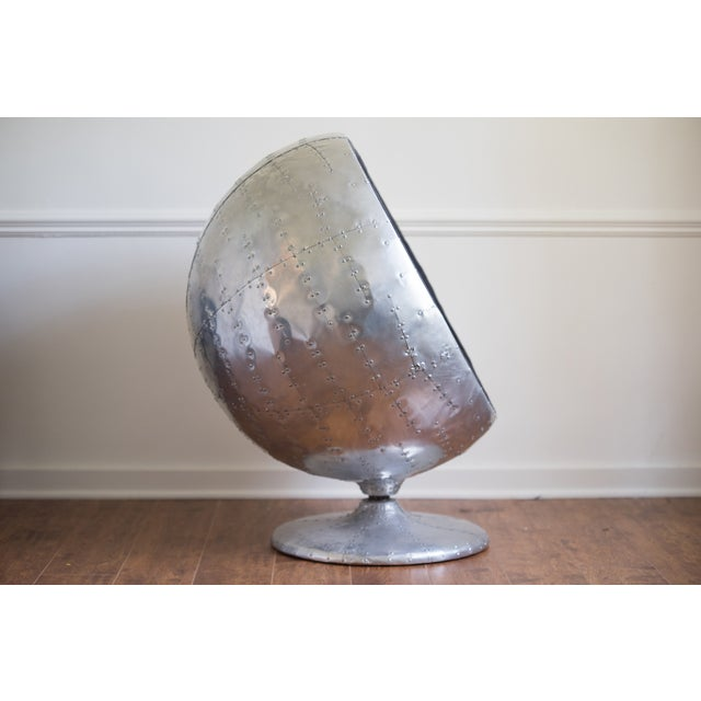 Restoration Hardware Orbit Spitfire Chair For Sale In Los Angeles - Image 6 of 6