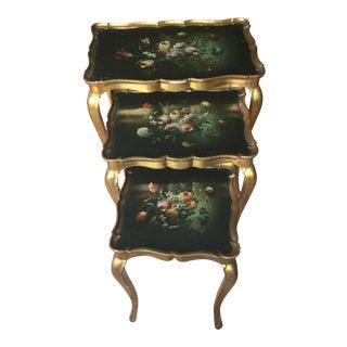 Florentine Nesting Tables - Set of 3