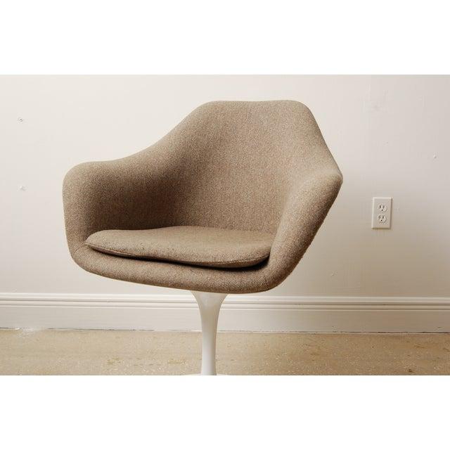 Mid-Century Modern Mid-Century Eero Saarinen Style Tulip Chairs - Set of 4 For Sale - Image 3 of 6