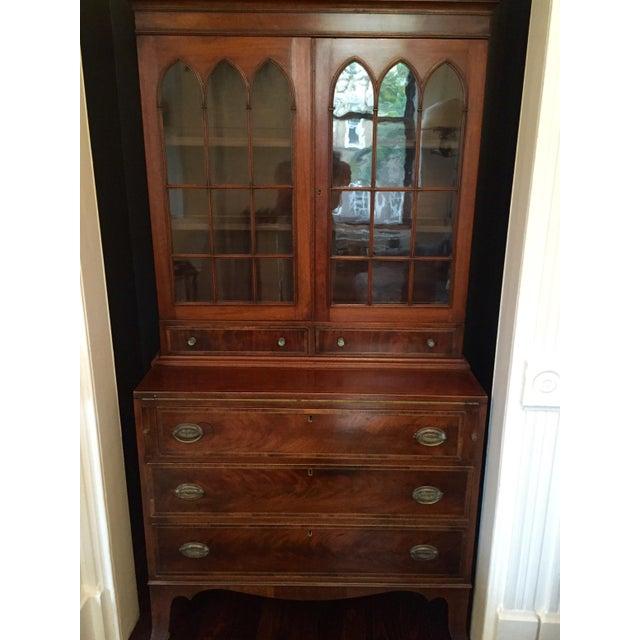 Federal Mahogany Secretary Bookcase - Image 4 of 5