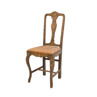 Painted Side Chair, Italy Circa 1810