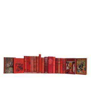 Vintage Children's Stories in Crimson For Sale