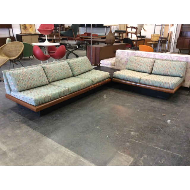 Adrian Pearsall Craft Associates vintage sectional sofa. Set consists of three seat sofa, two seat sofa and corner/coffee...
