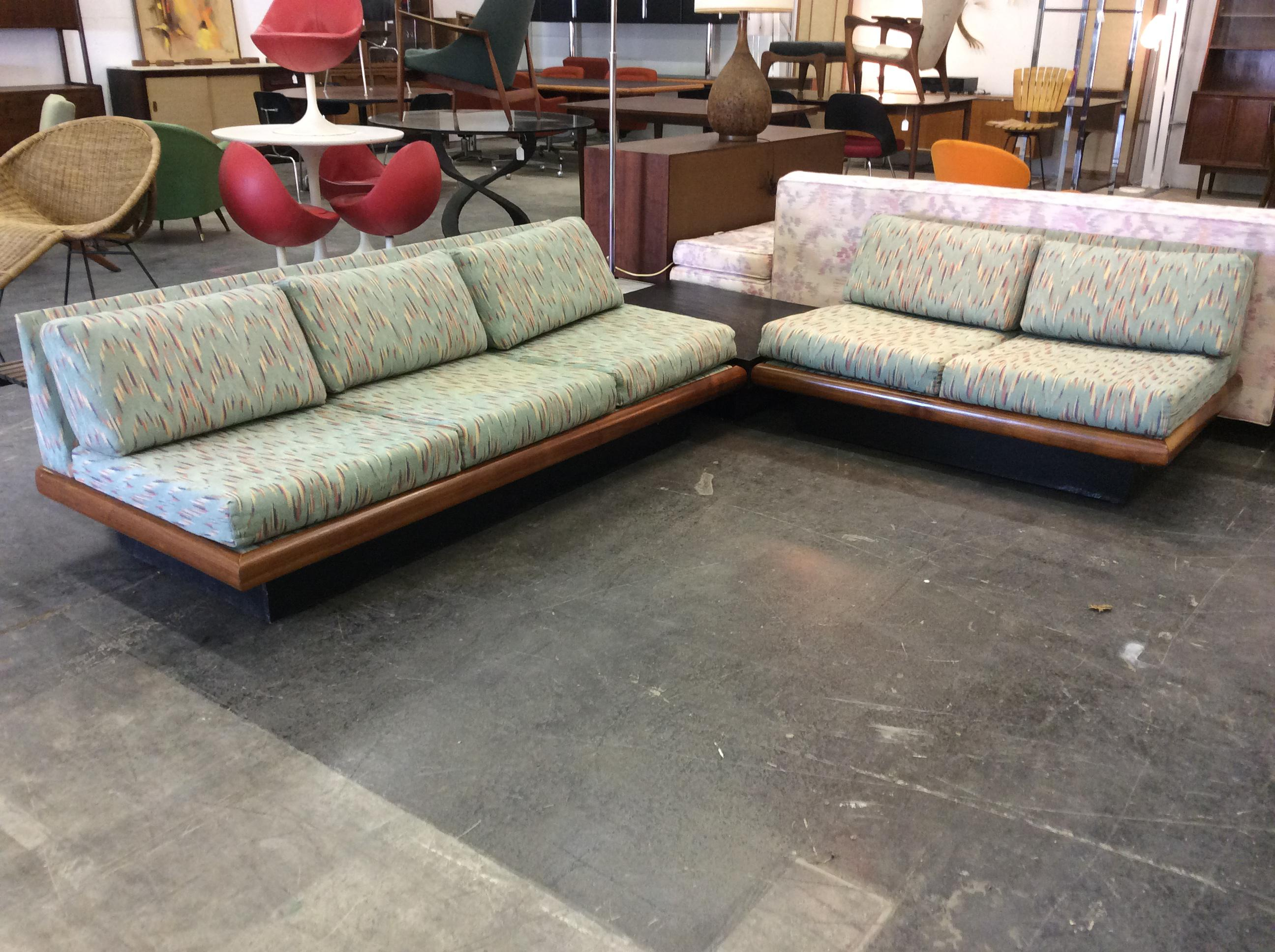 Adrian Pearsall Craft Associates 3 Piece Sectional Sofa   Image 2 Of 11