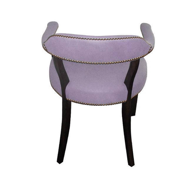 """Custom to Order """"The Color Hues"""" Collection Leather Chair For Sale In Los Angeles - Image 6 of 9"""