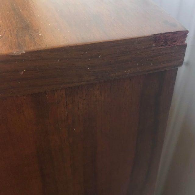 Mid-Century Modern Sliding Front Highboy Dresser For Sale - Image 10 of 13