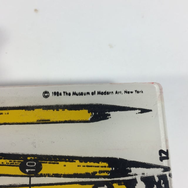 MOMA Pop Art Pencil Case 1984 For Sale In San Francisco - Image 6 of 6