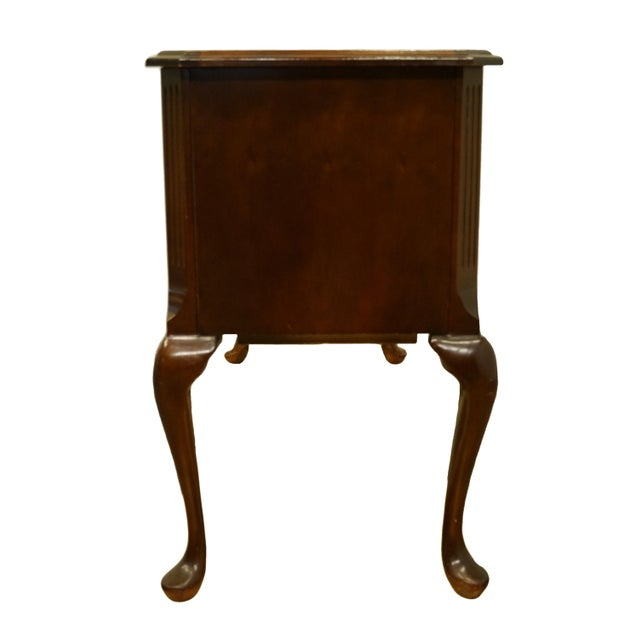 Bassett Furniture Eden House Collection Cherry Vanity For Sale - Image 12 of 13