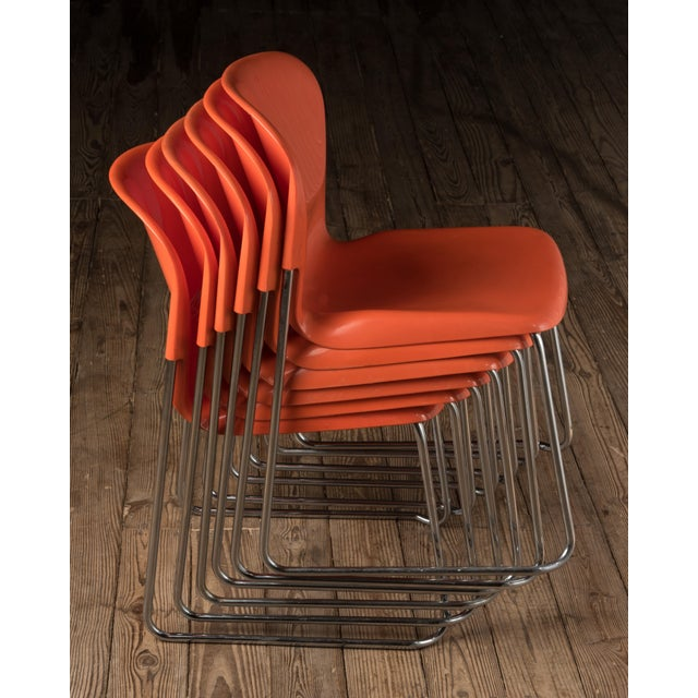 """1976 Vintage Gerd Lange """"Swing Chairs"""" - Set of 6 For Sale - Image 11 of 13"""