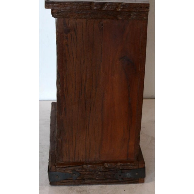 Rustic Rustic Simple Side Table For Sale - Image 3 of 6