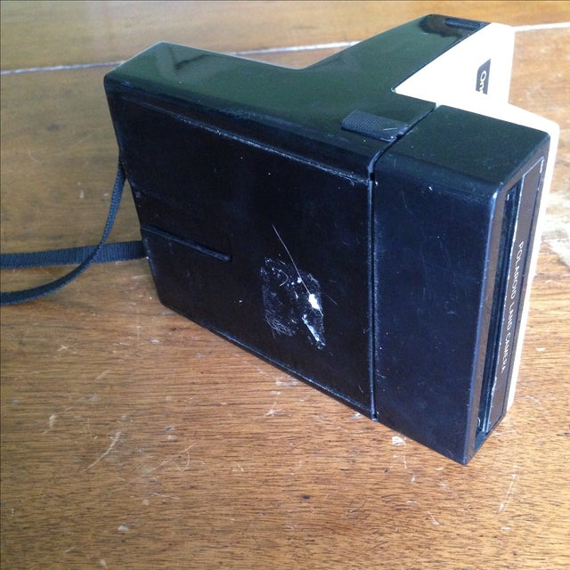 White Vintage Polaroid One Step Land Camera For Sale - Image 8 of 11