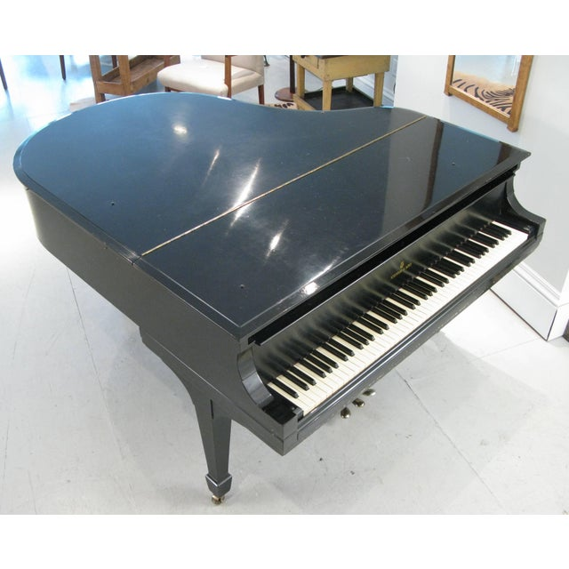 Steinway & Sons 1912 Model M Ebony Piano For Sale - Image 11 of 12