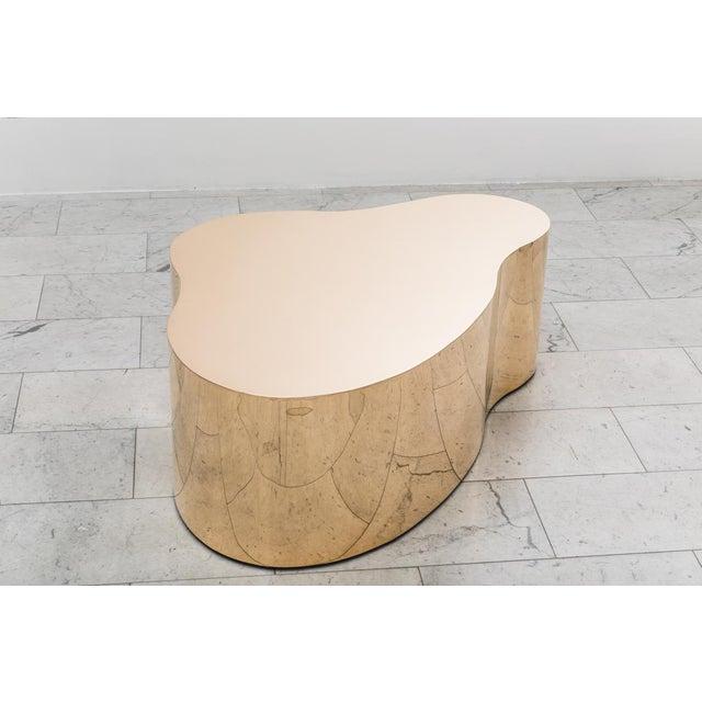"""Karl Springer Karl Springer LTD, Bronze Free Form Low Table """"C"""", USA, 2016 For Sale - Image 4 of 13"""