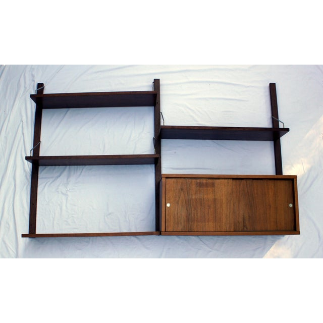 Mid-Century Modern 1960s Vintage Poul Cadovius Cado Royal System Wall Unit For Sale - Image 3 of 7