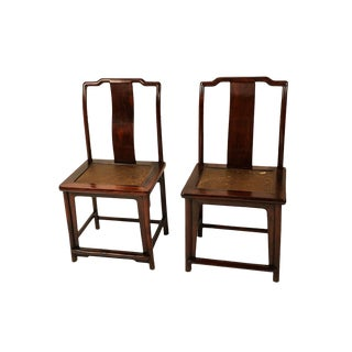 19th Century Ming Dynasty Chairs - A Pair For Sale