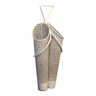 Mathieu Matégot Wall-Mounted Umbrella Stand France Circa 1950 For Sale