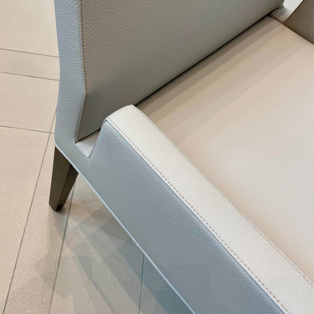 Contemporary Contemporary Dining Arm Chair For Sale - Image 3 of 6