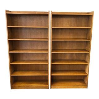 Classic Stickley Mission Oak Bookshelves - a Pair