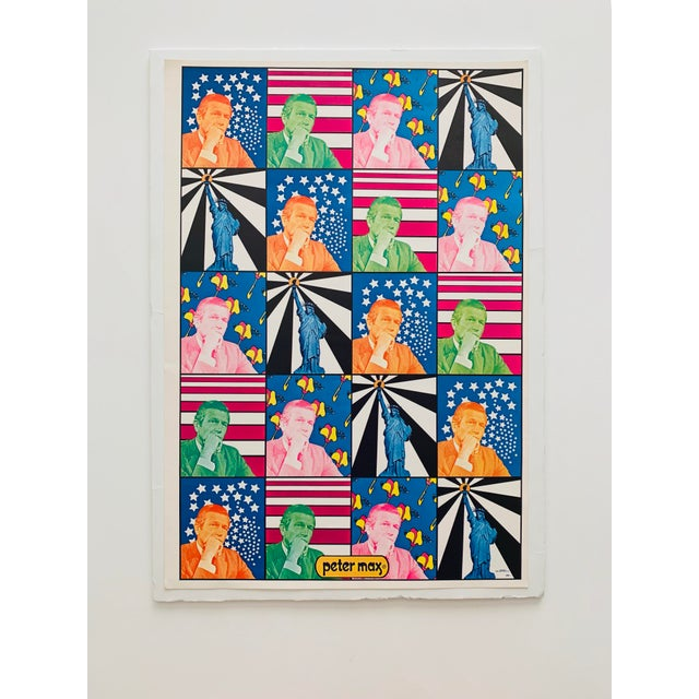 Peter Max Peter Max Iconic New York City Images Print For Sale - Image 4 of 10