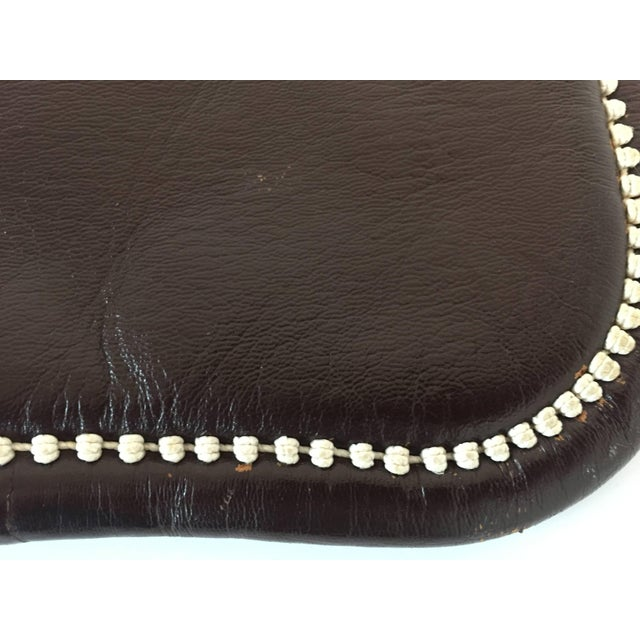 Cross Body Leather African Berber Tribal Moroccan Bag For Sale - Image 9 of 10