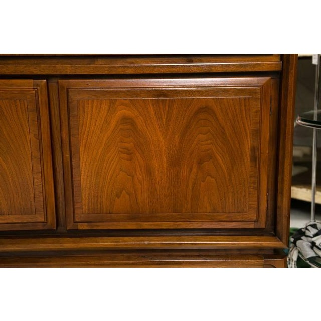 Mid-Century Custom Flip-Top Bar Cabinet - Image 10 of 10