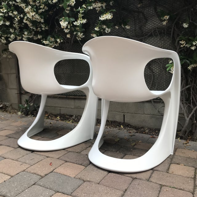 Vitra Mid Century Vitra Style Monolith Chairs- 5 Pieces For Sale - Image 4 of 11