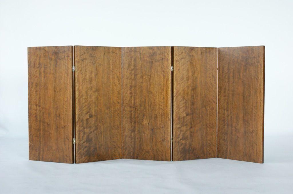 Lovely Emile Jacques Ruhlmann and Edgar Brandt Room Divider DECASO