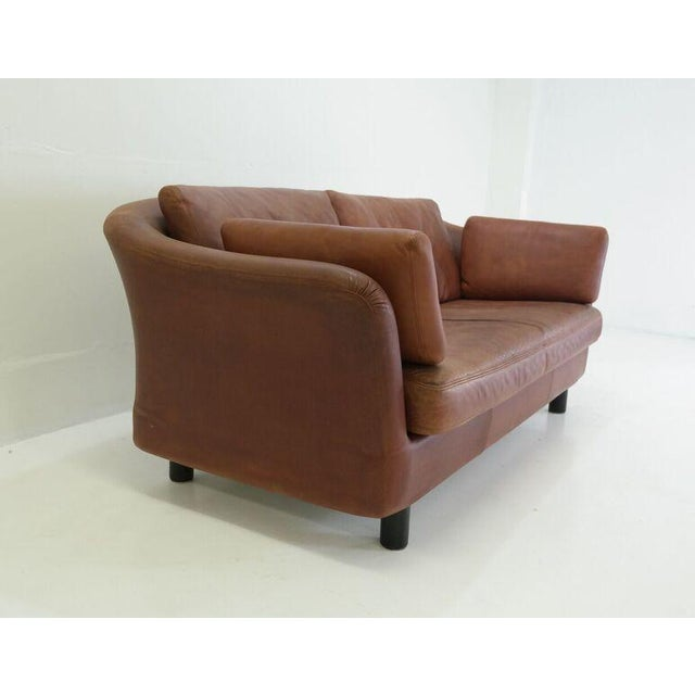 1970's Vintage Dux Leather Sofa - Image 5 of 5