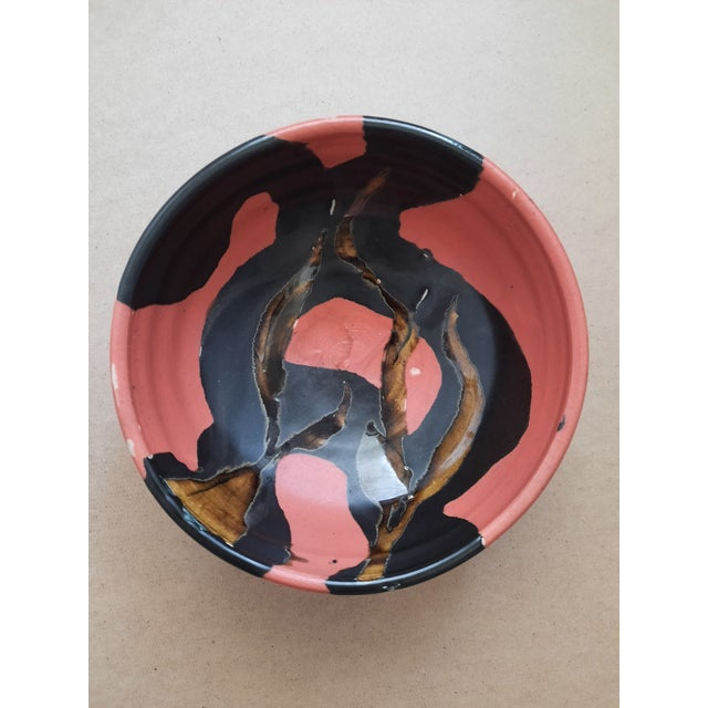 1990s Studio Pottery Bowl by Bg, '99 For Sale - Image 5 of 5