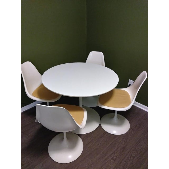 1960s Mid Century Dinette Set - 5 Pieces For Sale In New York - Image 6 of 6