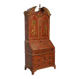 Extraordinary George III Lacquered Secretary For Sale