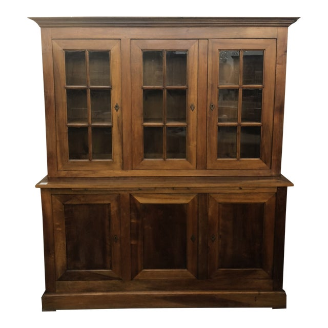 Late 19th C. Vintage French Louis Philippe Cabinet For Sale