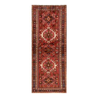 "Apadana - Vintage Persian Heriz, 2'4"" x 6'1"""